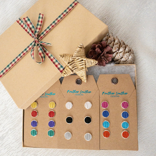 NEW! Leather Stud Gift Set