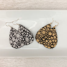 Load image into Gallery viewer, Pebbled Leather Earrings