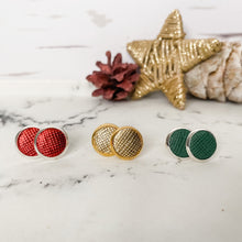 Load image into Gallery viewer, Holiday Leather Stud Trio