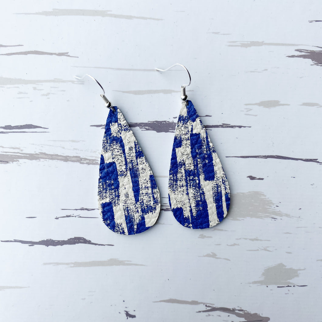 NEW! Fresh Start Leather Earrings - January Featured FLD
