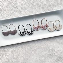 Load image into Gallery viewer, NEW! Demi Leather Earrings