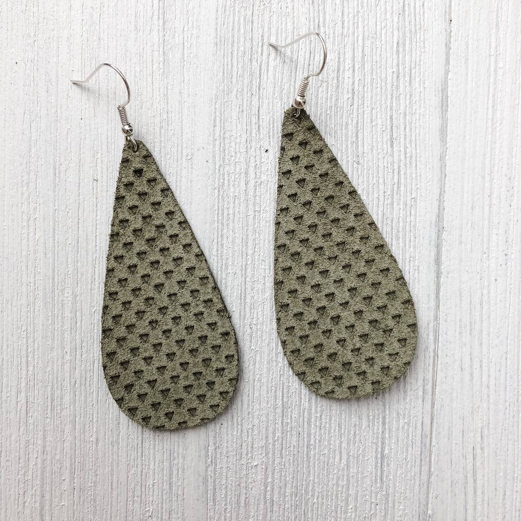 Meadow Leather Earrings