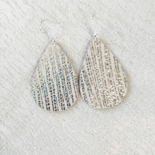 Load image into Gallery viewer, NEW! Glistening Leather Earrings