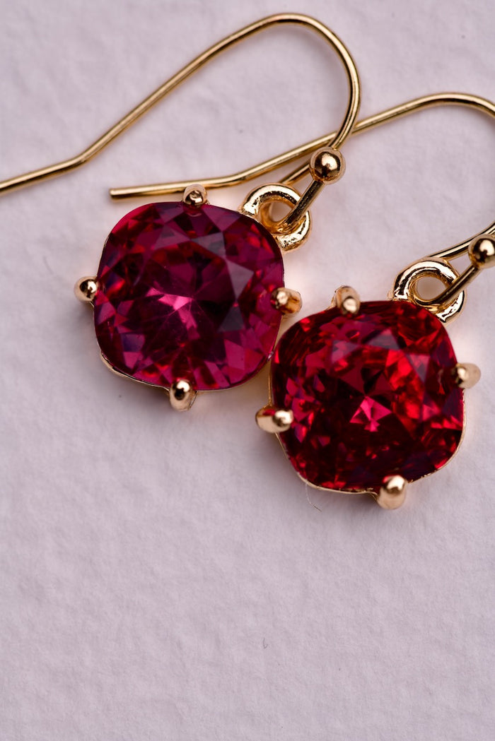 Brielle Earring - Fushia