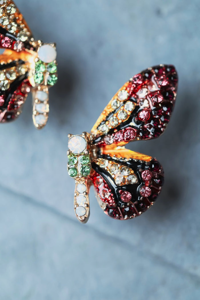 Zafino Jewelled Butterfly Earring