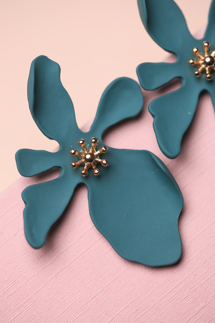 Zafino Orchid Earring in Blue