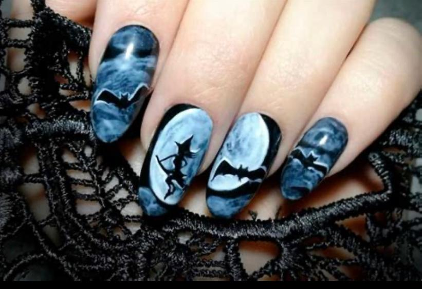 Creepy but Awesome Nail Arts for Halloween