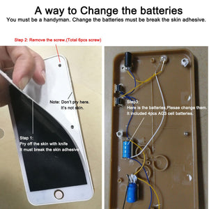 Fake electric shocking iPhone ⚡ 📱 change battery