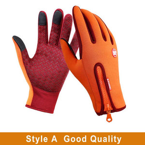 Warm Gloves Snow Ski Snowboard Gloves Motorcycle Riding Winter Touch Screen