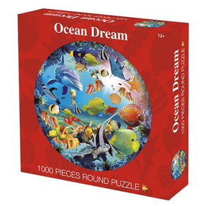 1000 Pieces Round Jigsaw Puzzle
