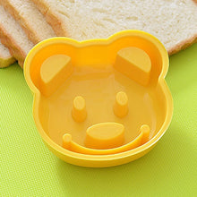 Load image into Gallery viewer, Little Bear Shape Sandwich Mold Bread Biscuits Embossed Device Cake Mold