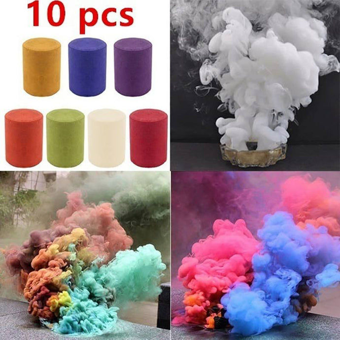 Colorful Smoke Pills Combustion Smog Cake Portable Photography Prop