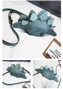 Creative Chameleon Animal Dinosaur Messenger HandBag