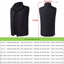 Load image into Gallery viewer, Electric Heated Jacket USB Heated Outdoor Winter Warm Washable