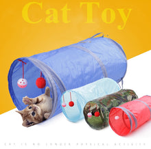 Load image into Gallery viewer, Indoor Collapsible Cat Kitty Puppy Kitten Rabbit Tunnel Tube