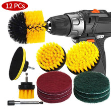 Load image into Gallery viewer, Drill Brush Scrub Pads 31 Piece Power Scrubber Cleaning Kit