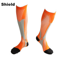 Load image into Gallery viewer, Running Compression Sports Socks 20-30 mmhg for Marathon Cycling Football