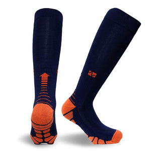 Running Compression Sports Socks 20-30 mmhg for Marathon Cycling Football