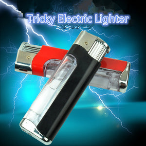 Tricky Electric Shock Cigarette Lighters🔥