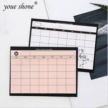 Load image into Gallery viewer, Simple Elegant flamingo custom calendar daily planners (30 sheets)