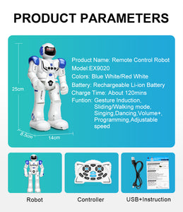 DODOELEPHANT Robot USB Charging Dancing Gesture Action Figure