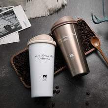 Load image into Gallery viewer, Love Dream Free 500ml Stainless Steel Vacuum Flask Thermos Coffee Cup