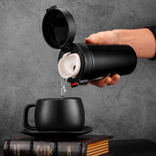 Load image into Gallery viewer, Enjoy This Moment 380ml Stainless Steel Vacuum Flask Thermos Coffee Cup