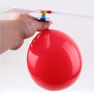 Traditional Mechanical Balloon Helicopter 1pc