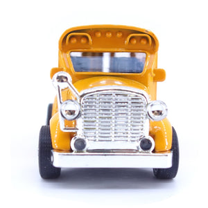 1:38 Hot Alloy School Bus