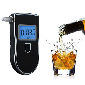 Portable Alcohol Detector Breathalyzer Gadgets