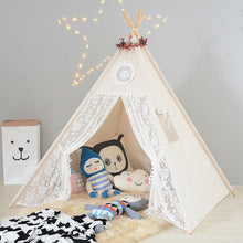 Load image into Gallery viewer, Large Unbleached Canvas Original Teepee Kids