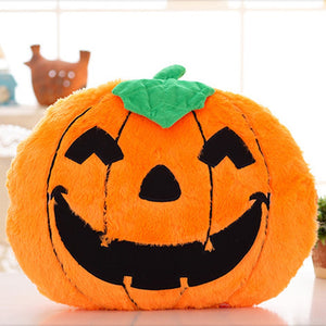 Halloween Cartoon Pumpkin Cotton Sofa Pillows