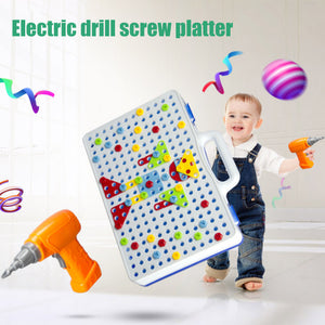 Electric Screwdriver DIY Educational Toys