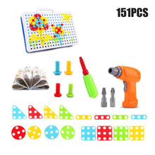 Load image into Gallery viewer, Electric Screwdriver DIY Educational Toys