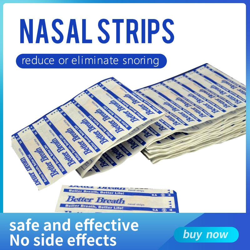 200 pcs/lot Breathe Right Nasal Strips Anti Snoring Strips Health Care