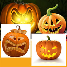 Load image into Gallery viewer, Halloween Pumpkin Carving Cutters Stainless Steel