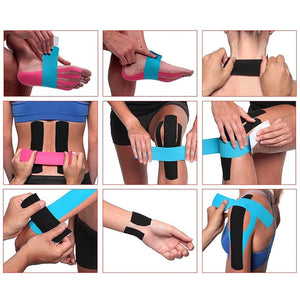 5M Waterproof Breathable Cotton Kinesiology Tape 🏃🏃‍♀️
