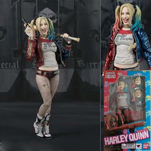 Load image into Gallery viewer, SHF Suicide Squad Action Figure Toys Harley Quinn and the Joker SHF Model Collectibles Super Hero Figurines Face Change Doll Toy