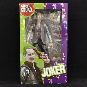 SHF Suicide Squad Action Figure Toys Harley Quinn and the Joker SHF Model Collectibles Super Hero Figurines Face Change Doll Toy