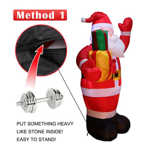 1.6M Christmas Snowman LED Inflatable