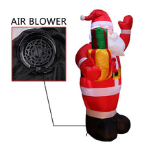 Load image into Gallery viewer, 1.6M Christmas Snowman LED Inflatable
