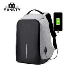 Load image into Gallery viewer, USB Charging Waterproof Backpack