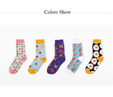Load image into Gallery viewer, JULY'S SONG Happy Socks Women Funny Art Socks