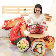 Load image into Gallery viewer, Simulated Food Pillow Stuffed Sushi pork Ribs Doll