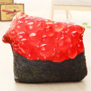 Simulated Food Pillow Stuffed Sushi pork Ribs Doll
