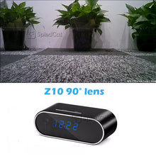 Load image into Gallery viewer, Digital Alarm Clock with Security Cam 1080P Wifi
