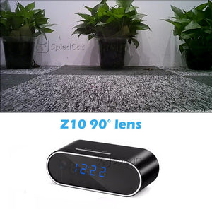 Digital Alarm Clock with Security Cam 1080P Wifi