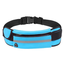 Load image into Gallery viewer, Small Sports Pack Night Reflective Light Belt Running Mini Waist Bag