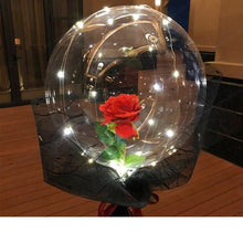 Load image into Gallery viewer, LED Luminous Gift Balloon Rose