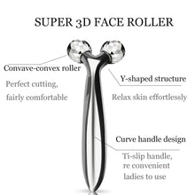 Load image into Gallery viewer, 3D Roller Massage V Face Carat Facial Massager